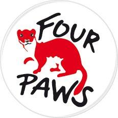 FOUR PAWS -Logo