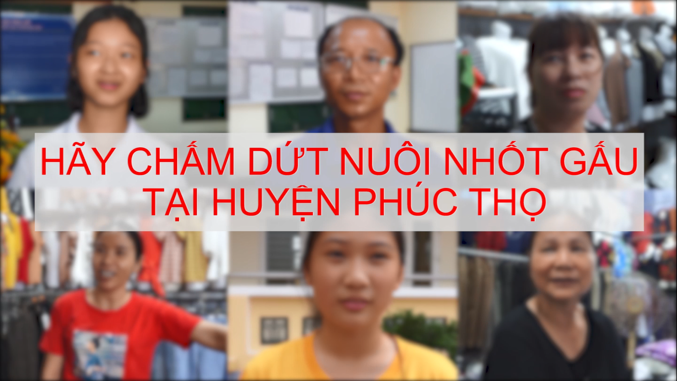 Phuc Tho Vlog: Residents of Hanoi call on authorities to End Bear Bile Farming